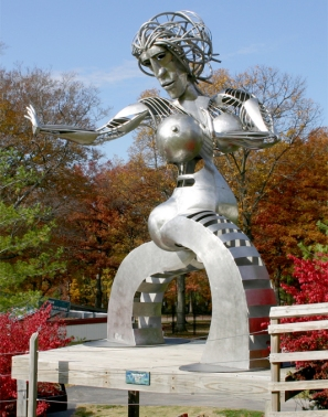 """Mother of Peace"" Stainless , 16'"